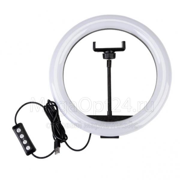 Светодиодная кольцевая лампа RGB LED MJ33 - 33 см