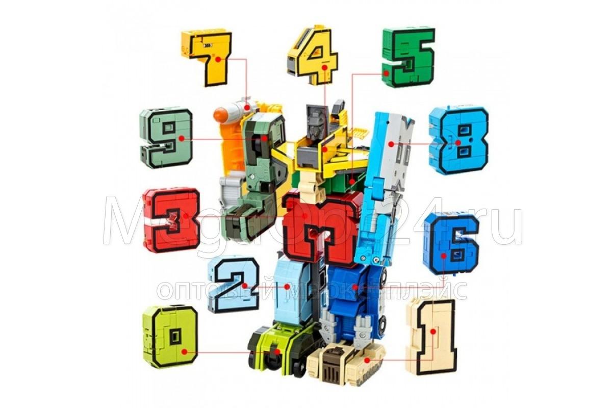 Набор Цифры-трансформеры оптом