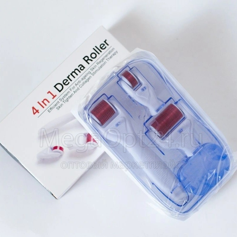 Дермароллер 4 в 1 оптом
