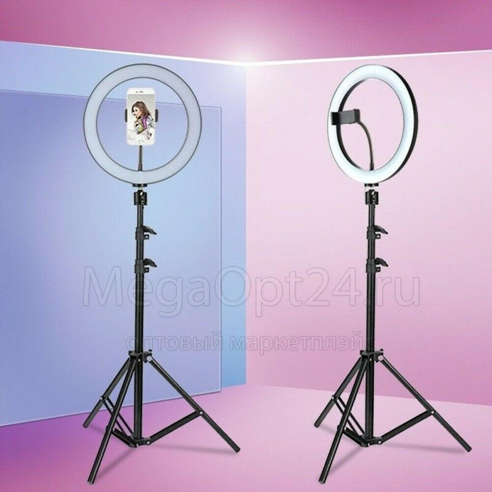 кольцевая лампа (36 см) со штативом