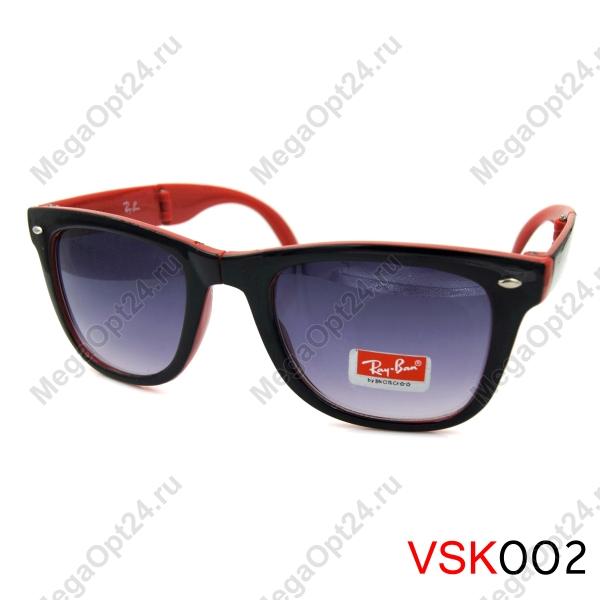 Складные очки RB Вайфарер стекло