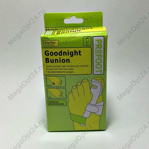 Бандаж-фиксатор для лечения деформации большого пальца на ноге Goodnight Bunion.