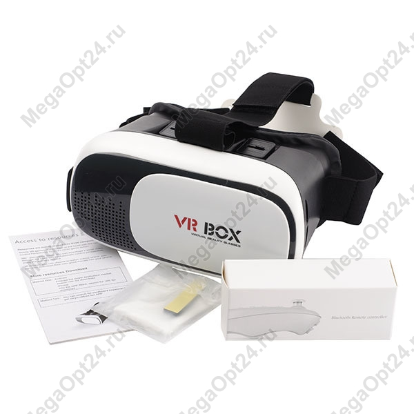Очки виртуальной реальности VR-BOX 2.0 с пультом
