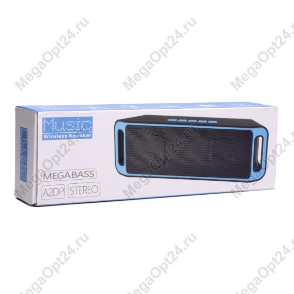 Акустическая колонка music megabass wireless speaker оптом