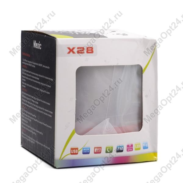 Портативная Bluetooth-колонка с X28 оптом