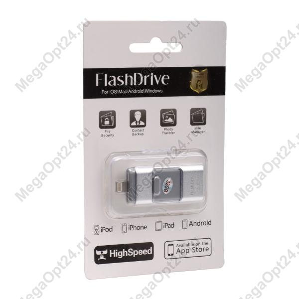Универсальная карта Flash Disk для ПК и смартфонов 32GB оптом