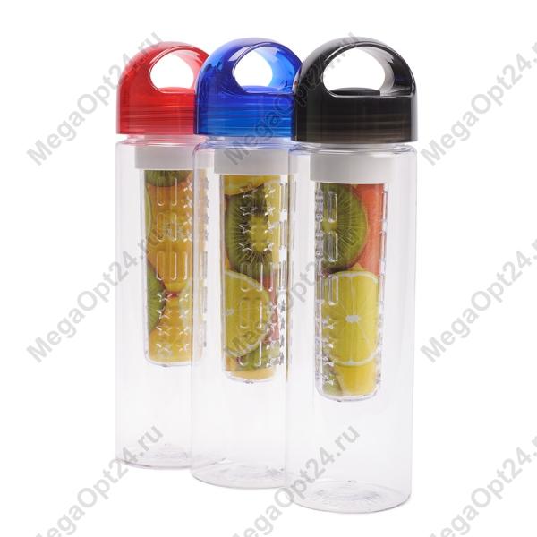 Бутылка со съемным отделом для фруктов Fruit Juice (Tritan Plastic) оптом