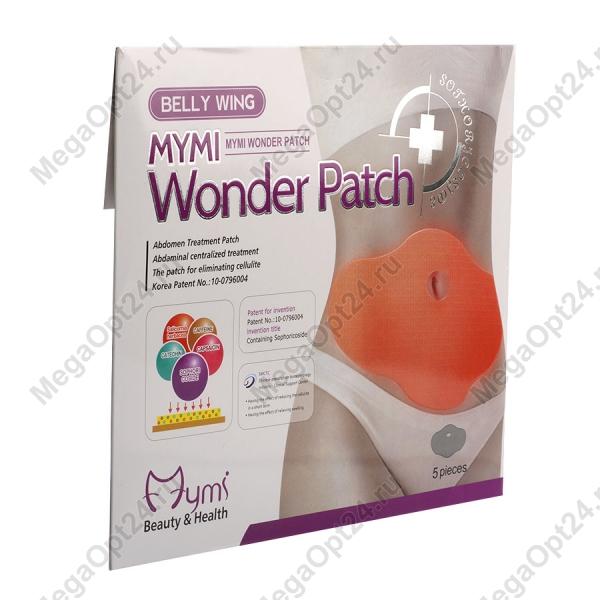 Пластырь для похудения Wonder Patch плоский живот оптом