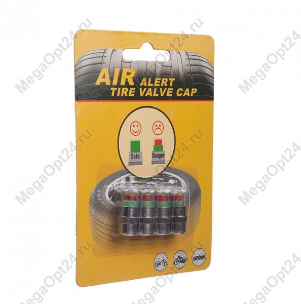 Колпачки с датчиком давления в шинах air alert tire valve cap оптом