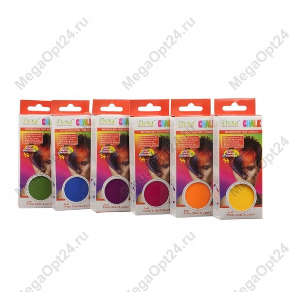 Прибор для окрашивания прядей DeXd temporary hair chalk оптом