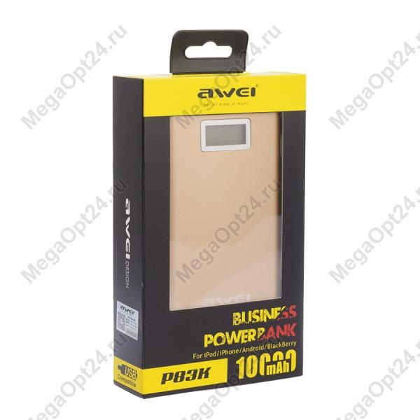 Power Bank Awei P83K 10000mAh оптом