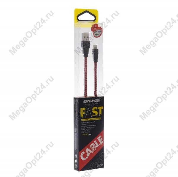 Usb – micro usb кабель Awei CL-700 оптом