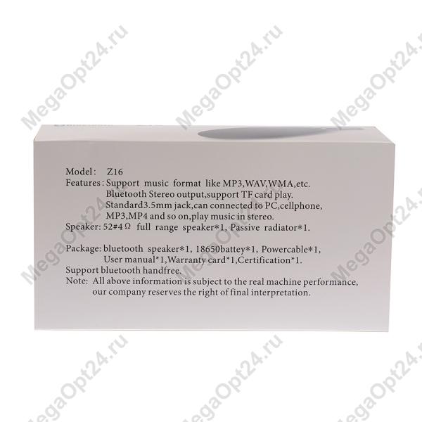 Портативная Bluetooth колонка Z-16 оптом