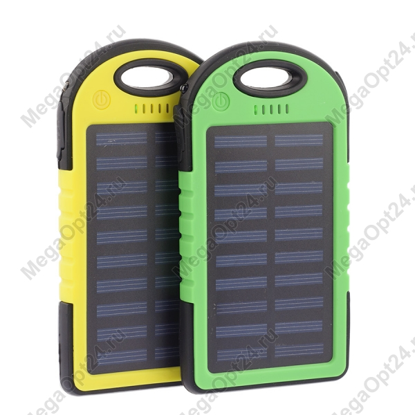 Power Bank на солнечных батареях Solar 12000 mAh оптом