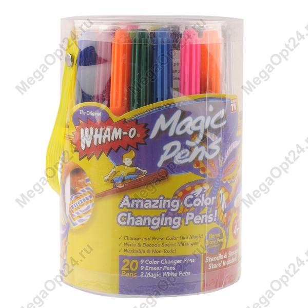 Волшебные фломастеры меняющие свой цвет MAGIC PENS оптом