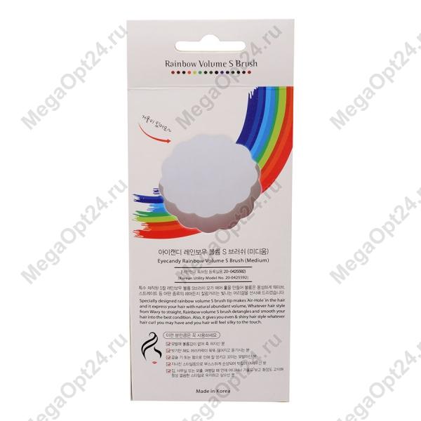 Радужная расческа Eyecandy Rainbow Volume S Brush оптом