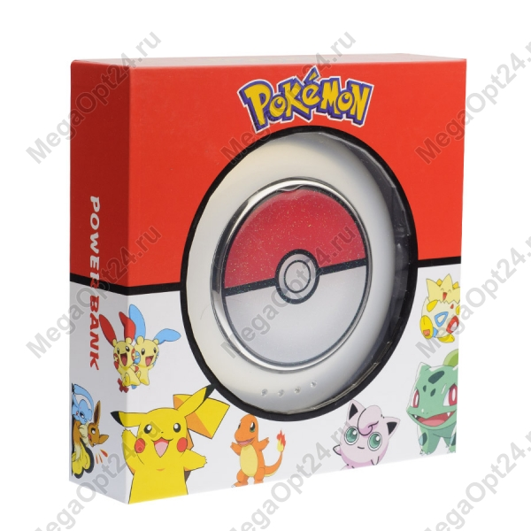 Power bank Pokemon 10800 мАч оптом