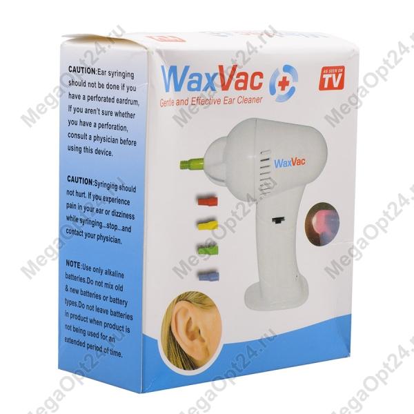Вакуумный очиститель ушей WaxVac оптом