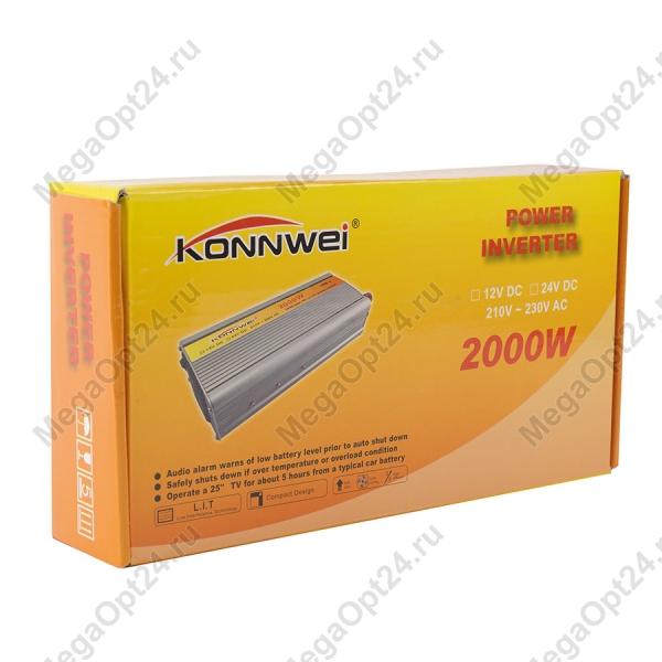 Преобразователь напряжения Konnwei мощностью 2000W оптом
