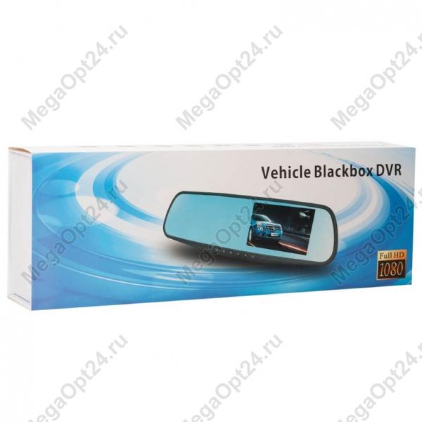 Зеркало-видеорегистратор Vehicle Blackbox DVR с камерой заднего вида оптом