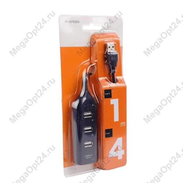 Концентратор USB2.0 HUB 4 порта оптом