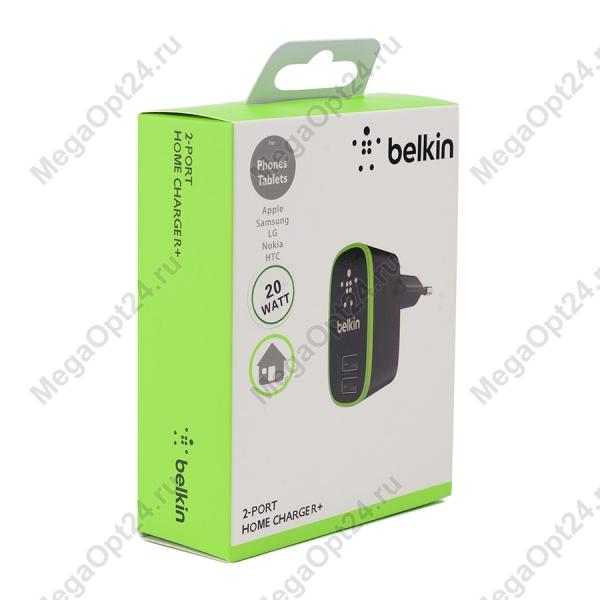 Сетевое зарядное устройство Belkin Home Chargerчерный оптом