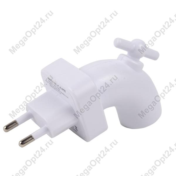 Зарядное устройство USB в виде крана с функцией отключения питания оптом