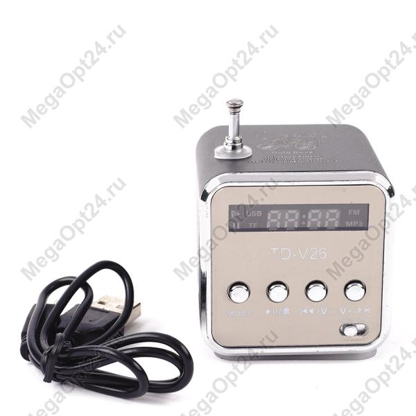 Портативная колонка micro SD\USB\TF speaker оптом.