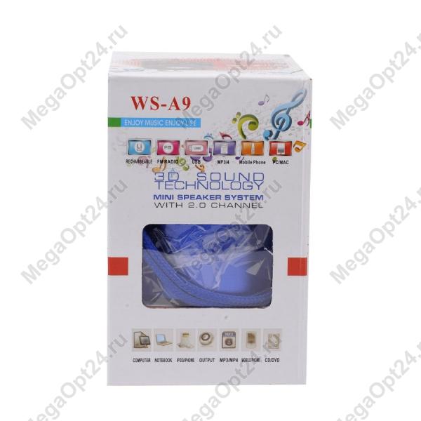 Портативная колонка Wster ws-a9 оптом
