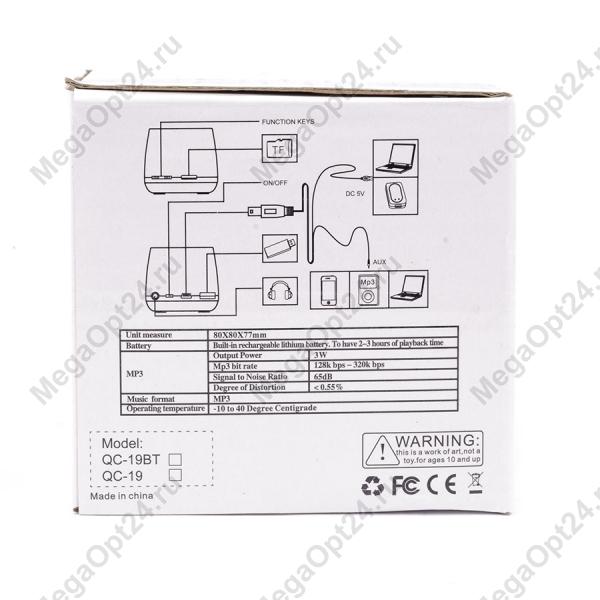 Портативная колонка Mini Spiaker QC-19 оптом