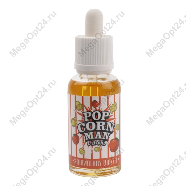 Жидкость для электронных сигарет Popcorn Man Strawberry Drizzle оптом