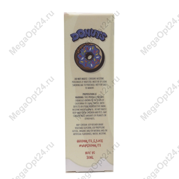 Жидкость для электронных сигарет Donuts E-juice - Donuts оптом