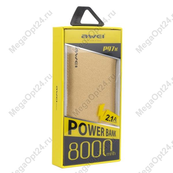 Power BankAWEI P97K 8000 Mah оптом