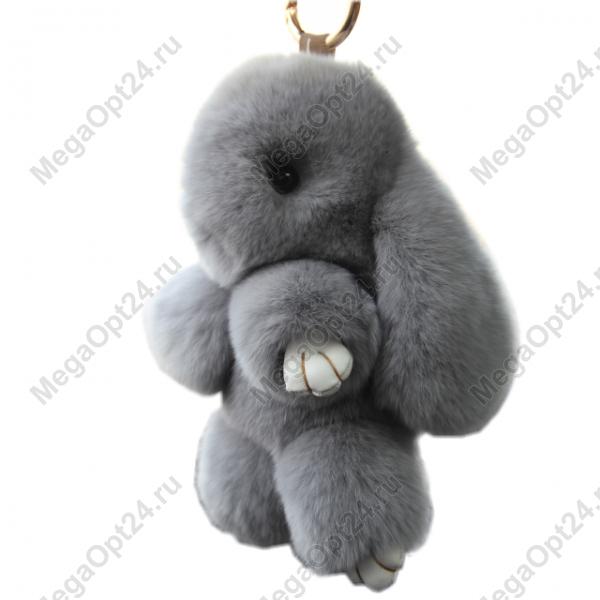 Брелок Кролик из натурального меха оптом