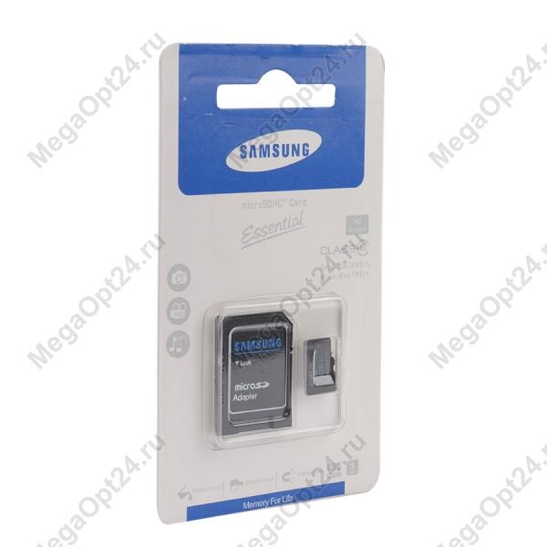 Карта памяти MicroSDHC Essential class 10 2GB оптом