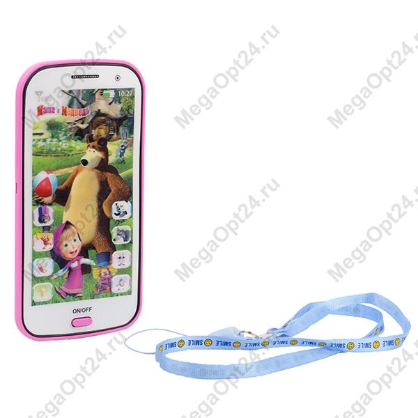 Интерактивный телефон Маша и Медведь оптом