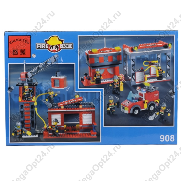 Конструктор Enlighten Brick Fire Rescue 908 оптом