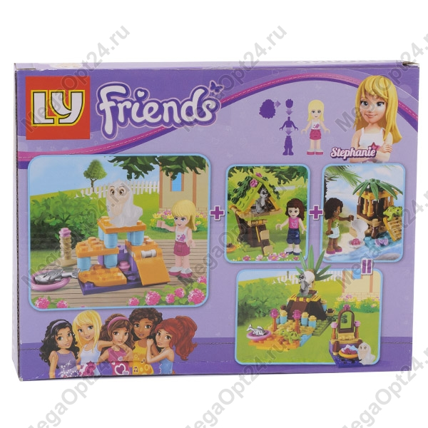Конструктор LY-Friends №3 оптом