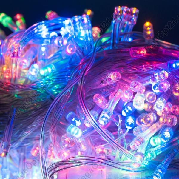 Светодиодная гирлянда С Новым годом 500 ламп оптом