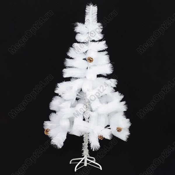Елка искусственная белая высота90 см. оптом