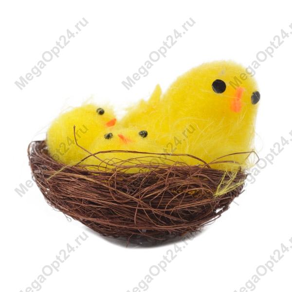 Цыплята в гнёздышке - символ 2017 года оптом