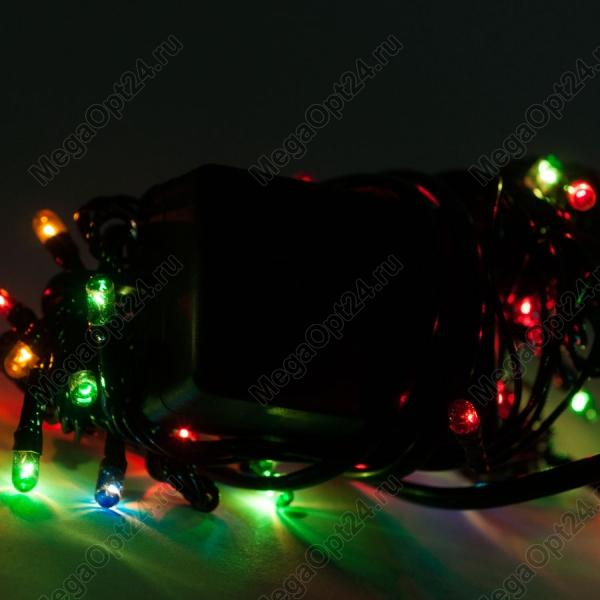 Светодиодная гирлянда С Новым годом 140 ламп 7 м оптом