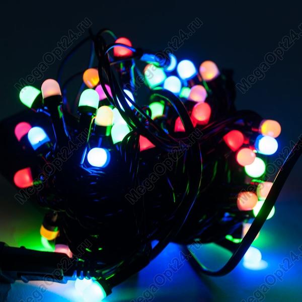 Гирлянда из светодиода С Новым годом 180 ламп 9 м оптом