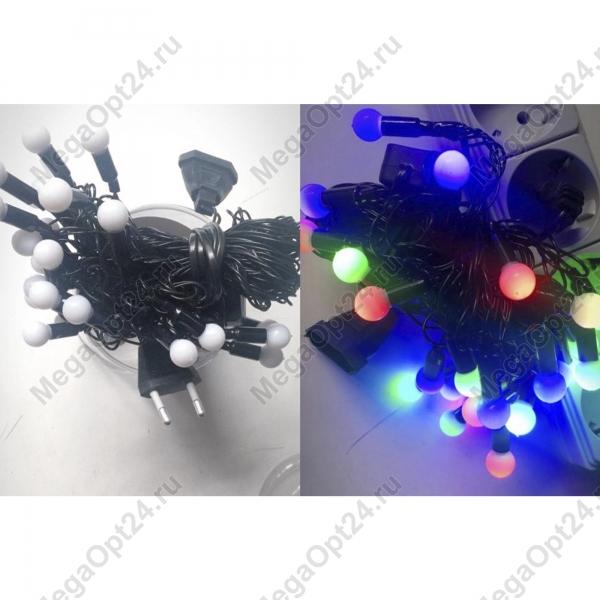 Светодиодная гирлянда 50 ламп 7 м фигурная оптом