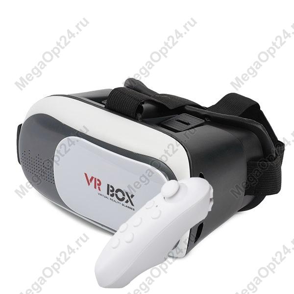 Очки виртуальной реальности VR-BOX 2.0 с пультом оптом