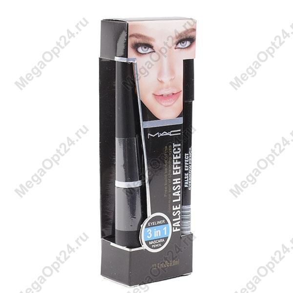 Набор для макияжа глаз 3 в 1 False Lash Effect оптом