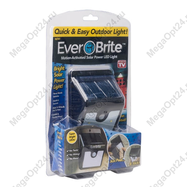 Светильник на солнечных баталеях Ever brite оптом