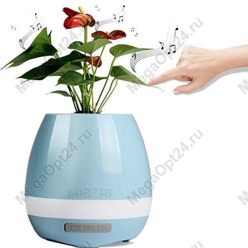 Умный музыкальный горшок для цветов SMART MUSIC FLOWERPOT оптом