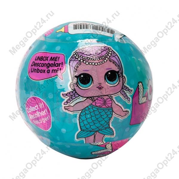 Игрушка-кукла-сюрприз в шарике 6шт оптом