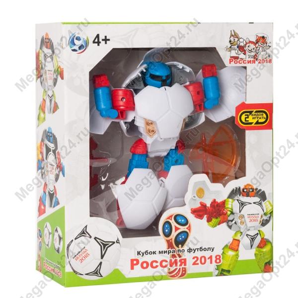 Робот-трансформер Кубок мира по футболу Россия 2018 оптом